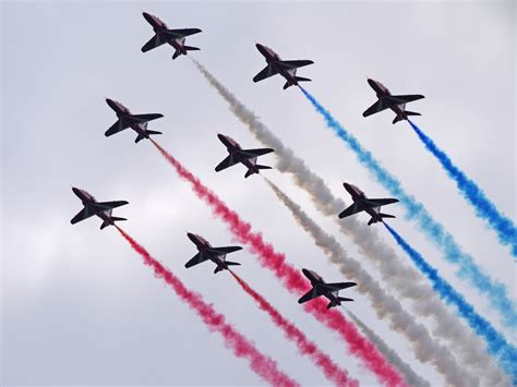 erd arrows penarth stands by for tomorrow morning s nato flypast