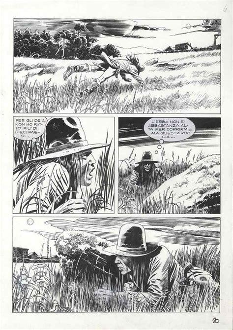tavole originali tex fumetti alessandro editore collana tex seminoles tavole