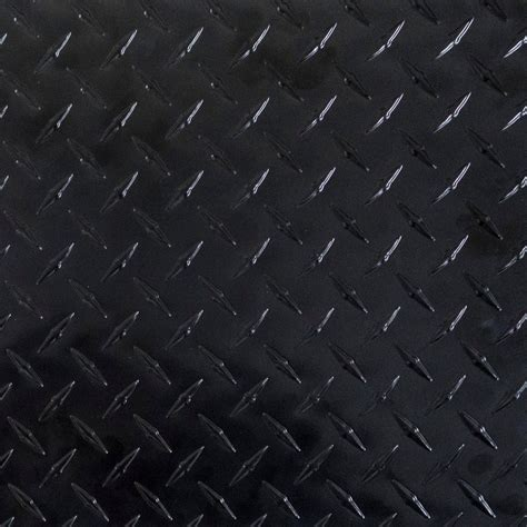 Aluminum Decorative Sheets Black Aluminum Diamond Plates 3003 H22 H25 Cold