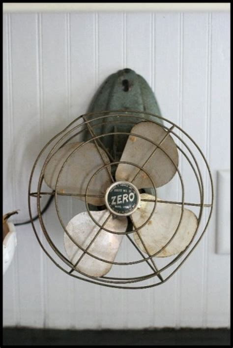Vintage Wall Mounted Fan I Want One Living Beautifully