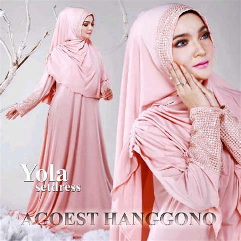 Syibia Set By Arniz Collection yola set dress by agoest hanggono baju muslim anak