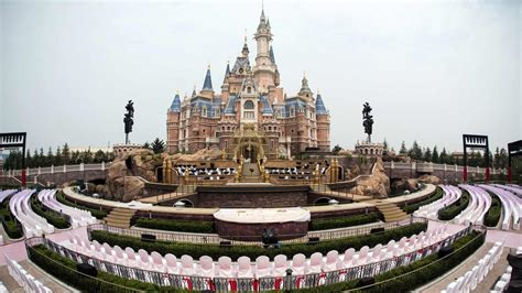 disney shanghai how disney tried to make the enchanted storybook castle