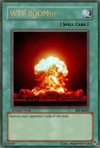 Wtf Boom Meme - wtf boom yu gi oh card by pokemariofan14 on deviantart