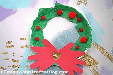 paper plate wreath crafts paper plate wreath kid craft