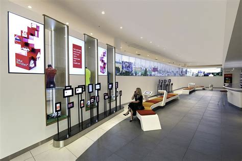 Forum Credit Union Atm Absa Bank Branch Lobby The Financial Brand