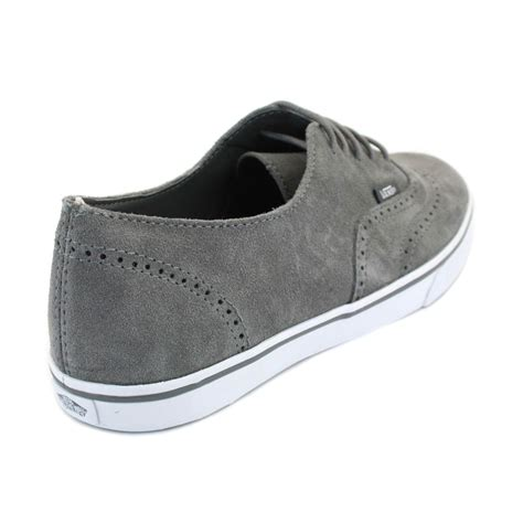 Vans Authentic Oxford vans authentic lo pro suede oxford womens trainers gyq4k7 grey white ebay