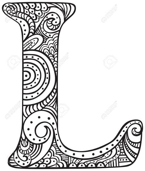 letter l coloring pages best of capital letter l in black coloring