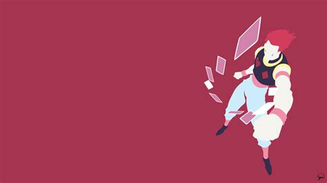 hunter x hunter wallpaper for laptop hisoka hunter x hunter minimalist wallpaper by