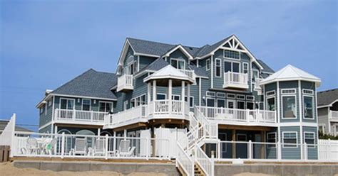 Sandbridge Beach Oceanfront Vacation Home Siebert House Rentals In Virginia Oceanfront