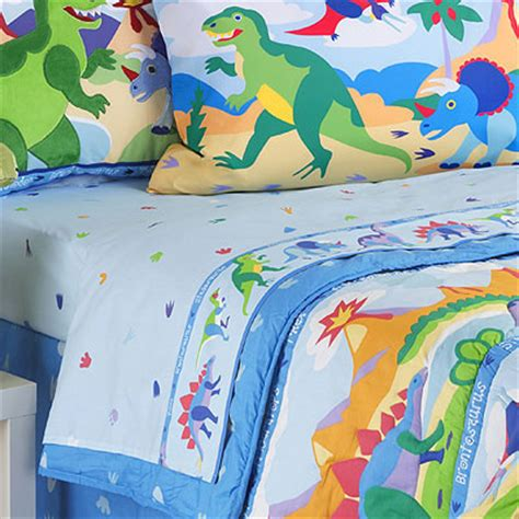 dinosaur bedding full dinosaurland full sheet set
