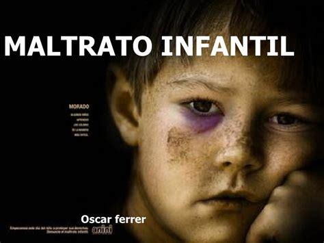 imagenes maltratos infantiles maltrato infantil