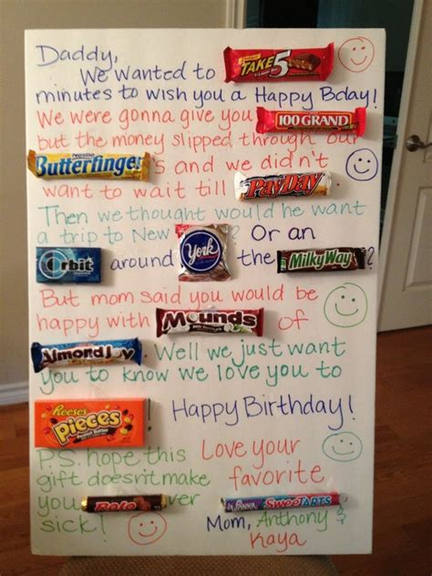 Birthday Card Made Out Bars 76 Best Images About Candy Cards On Pinterest Candy Bar