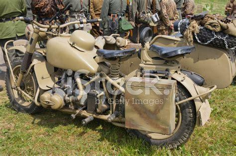 Alte Motorrad Motoren by Ww Ii Deutsche Alte Motorrad Bmw R75 Stockfotos