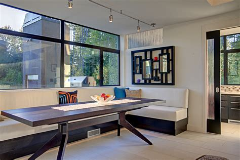 contemporary banquette seating magnificent banquette seating decorating ideas
