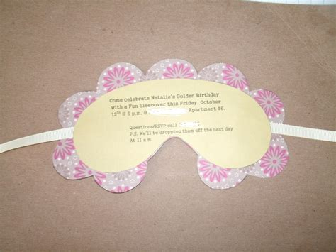 eye mask invitation template best photos of sleep mask invitation template mask