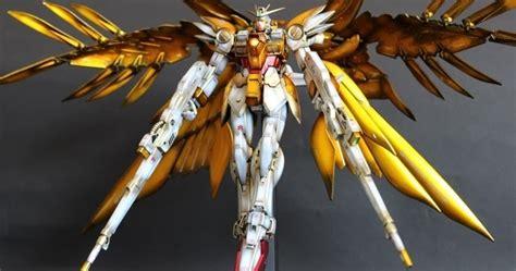 Sd Wing Zero Custom Gundam New Mib Endless Waltz Yolly gundam mg 1 100 wing zero custom gold wing