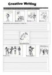 creative writing worksheet by be43376