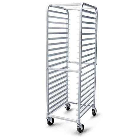 Speed Racking by New 36527 Aluminum 20 Tier Commercial Kitchen Bun Pan