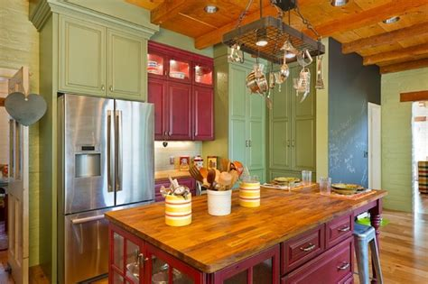 creative ways   color   dull kitchen