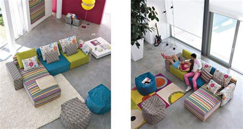 Bunte Designer Sofas by Interieur Design Linea Italia Coole Ideen Mit