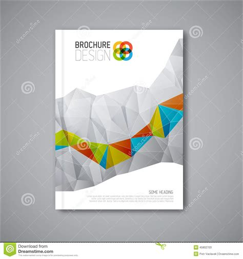 20 modern style brochure catalogue template design modern vector abstract brochure design template stock