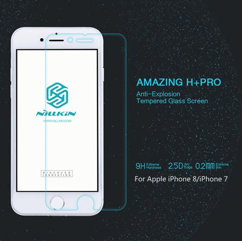 Nillkin Tempered Glass Amazing H Iphone 44s Clear nillkin amazing h pro tempered glass screen protector for
