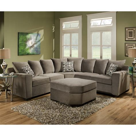 American Made Sectional Sofas Extraordinary American Made Sectional Sofas 98 About Remodel Grey Tweed Sectional Sofa With