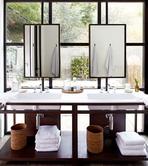 window over bathroom sink vanity mirrors over windows transitional bathroom alexander designs