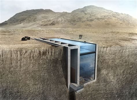 the cliff house casa brutale from opa is an architectural fantasy house