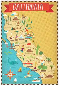 california map by nate padavick map travel
