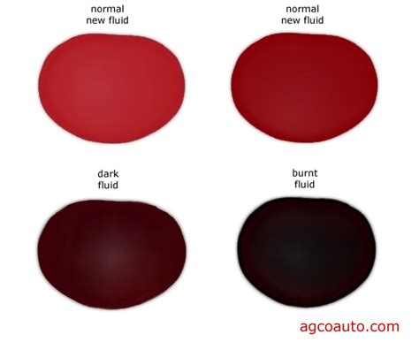 transmission fluid color chart agco automotive repair service baton la