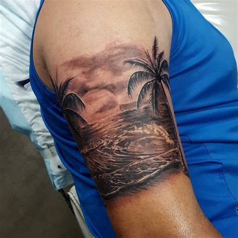 beach scene tattoo designs 21 designs ideas design trends premium