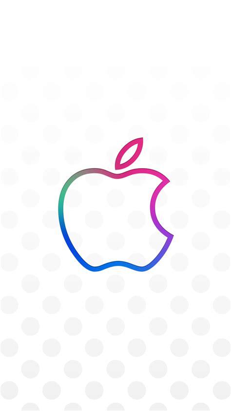 apple lock screen logo iphone wallpaper