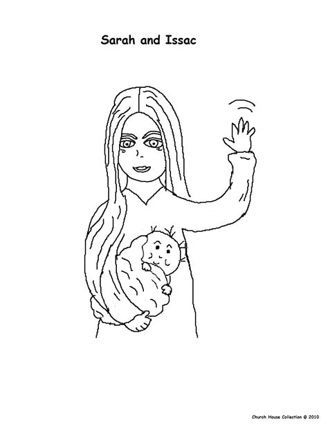 coloring page of abraham sarah and isaac free coloring pages of sarah abraham and isaac