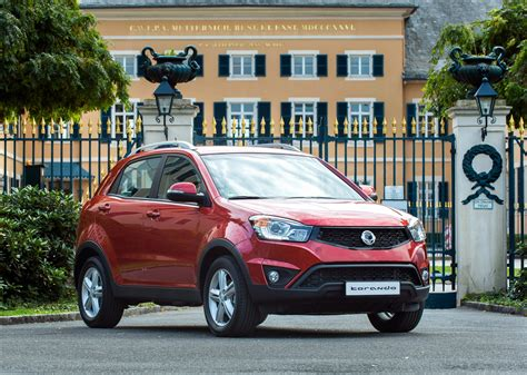 ssangyong korando 2014 2014 ssangyong korando full details and pricing