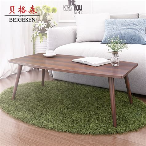 Coffee Table For Small Apartment Wood Coffee Table Small Apartment Minimalist Rectangular Living Room Table A Tea Side Few Simple