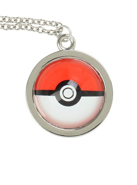 Clearance Sale Pokeball Poke Go T1310 4 poke necklace topic