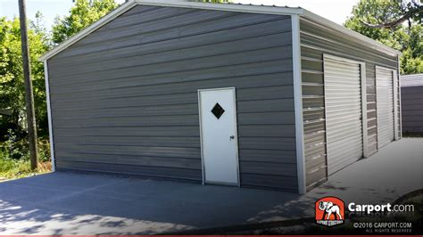 how wide is a one car garage door