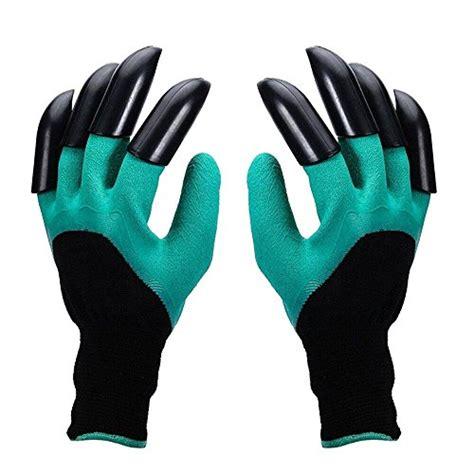 Genie Garden Gloves garden genie gloves jaity garden gloves with left right fingertips abs plastic claws for