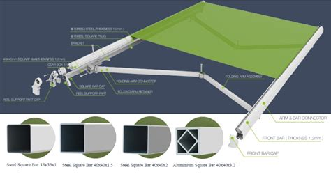 retractable folding arm awning awnings prices awnings