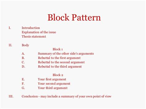 Essay Patterns by Argumentative Essay Patterns Illustrationessays Web Fc2