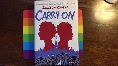 libro carry on the library is open carry on quot di rainbow rowell l angolo dei libri lgbt consigliati da