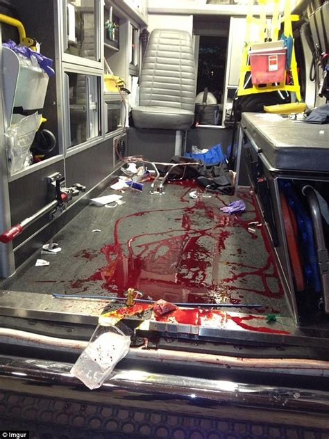 Safe Inside The Violence paramedic posts powerful image laying bare reality of gun
