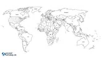Black And White World Map by Pics Photos Black And White World Map With Countries Labeled