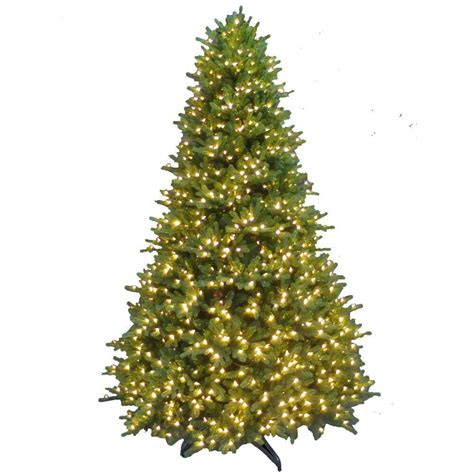 home depot 9 foot douglas fir artificial treee 9 ft feel real downswept douglas fir artificial tree with 900 clear lights pedd4 312