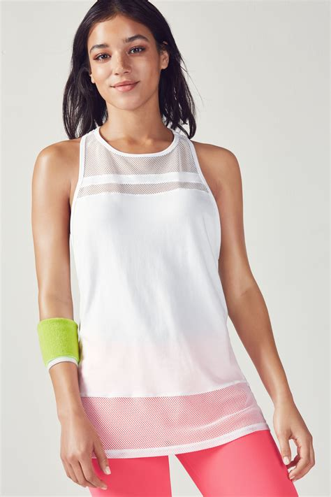 Proklamasi No 97 Top White Xxs s l tunic fabletics
