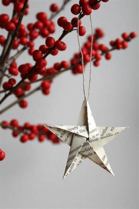 How To Make Easy Paper Ornaments - 38 easy handmade ornaments