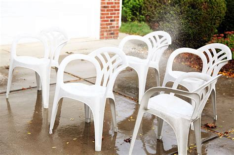 spray paint chairs white makeover idea for plain white plastic chairs using spray