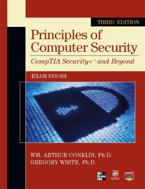 Computer Security Fundamentals 3rd Editon Ebook E Book free e books principles of computer