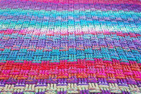 what is crochet weaving the christmas basket weave crochet blanket emma leith